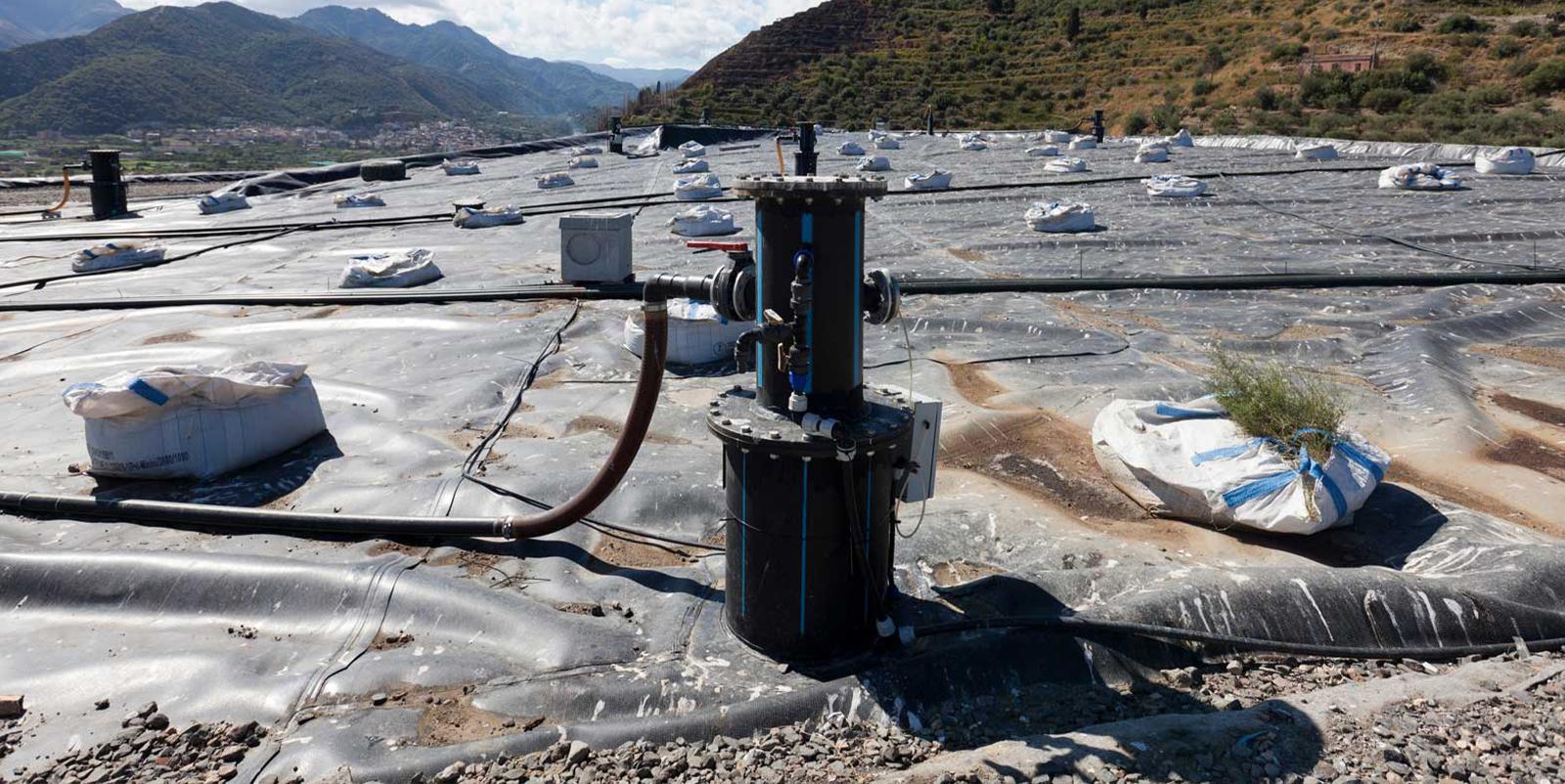 Tubi preisolati flessibili gas discarica